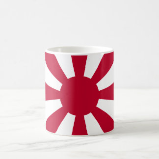 Magnetic cup of leader flag