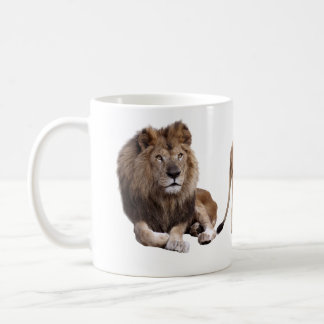 Magnetic cup of lion coffee mugs