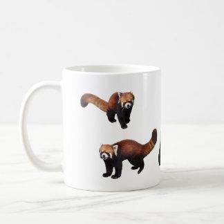 Magnetic cup of retsusapanda and giant panda