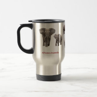 Magnetic cup of the African animal