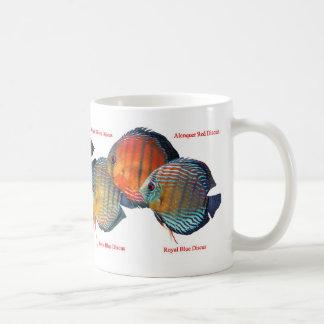 Magnetic cup of wild deisukasu classic white coffee mug