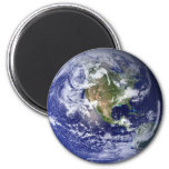 Magnetic Earth Refrigerator Magnet