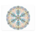Magnetic Energy Mandala Post Card