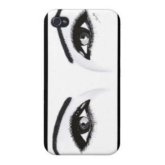 Magnetic Eyes iPhone 4 Cases