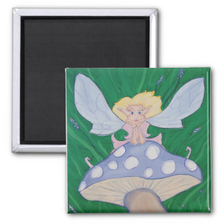 Magnetic Faery 2 Inch Square Magnet