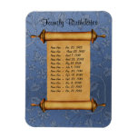 Magnetic Family Birthday Reminder - Customize Flexible Magnet