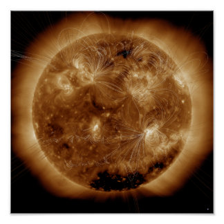 Magnetic field lines on the Sun 2 Posters