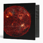 Magnetic field lines on the Sun 3 3 Ring Binder