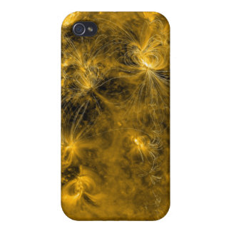 Magnetic field lines on the Sun Covers For iPhone 4