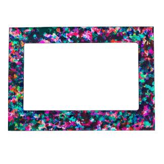 Magnetic Frame Informel Art Abstract