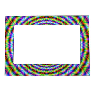 Magnetic Frame    Psychedelic Neon Ripples