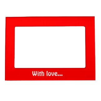 Magnetic Frame Red