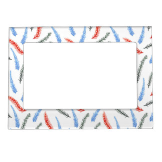 Magnetic frame with branches