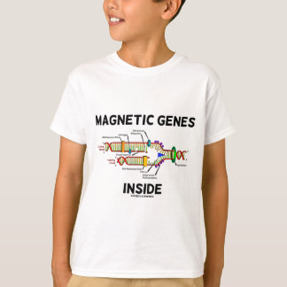 Magnetic Genes Inside (DNA Replication) T-Shirt