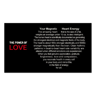 Magnetic Heart Energy Business Card
