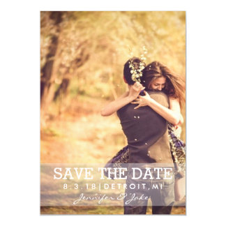 Magnetic Invite - Save the Date II Magnetic Invitations