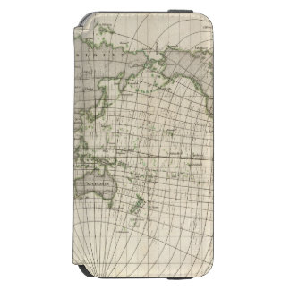 Magnetic Map of the World iPhone 6/6s Wallet Case