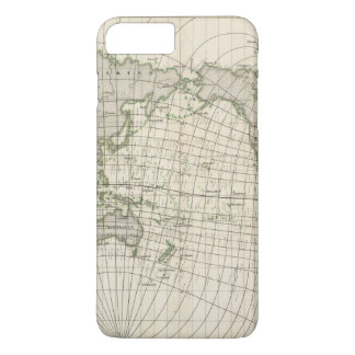 Magnetic Map of the World iPhone 8 Plus/7 Plus Case