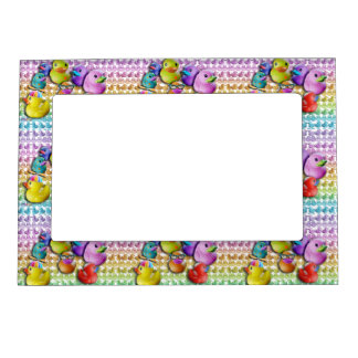 MAGNETIC PICTURE FRAME - RUBBER DUCKIES