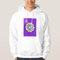 'Magnetic Purple Sunshine' Hoodie