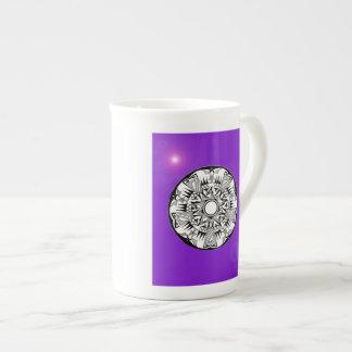 'Magnetic Purple Sunshine' Tea Cup