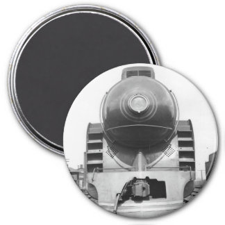 Magnetic Southern Streamliner 3 Inch Round Magnet