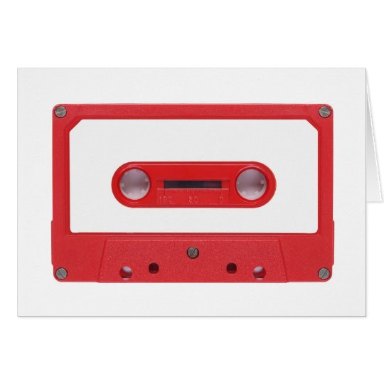 Magnetic Tape Cassette For Audio Music Card