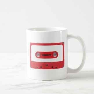 Magnetic Tape Cassette For Audio Music Coffee Mug