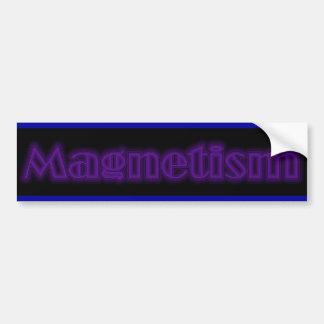 Magnetism Logo Bumper Sticker Car Bumper Sticker