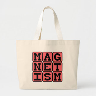 Magnetism, Unseen Force Canvas Bags