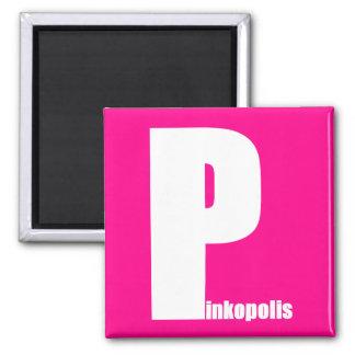 ¡Magnetismo de Pinkopolis! Imán Para Frigorifico