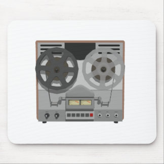 Magnetófono de carrete: modelo 3D: Tapetes De Raton