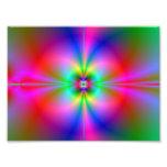 Magnetosfera colorida arte con fotos