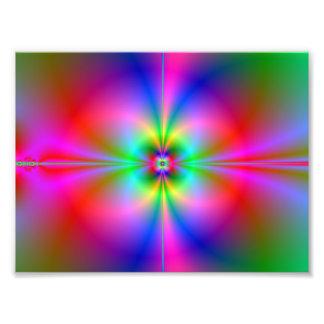 Magnetosfera colorida fotografía