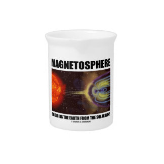 Magnetosphere Shielding Earth From Solar Wind Drink Pitchers