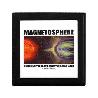 Magnetosphere Shielding Earth From Solar Wind Gift Box