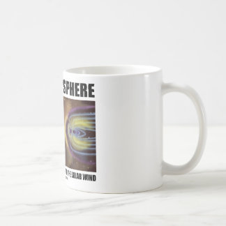 Magnetosphere Shielding Earth From The Solar Wind Mug