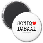 soniq [Love heart]  iqbaal soniq [Love heart]  iqbaal Magnets