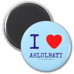 i [Love heart]  ahlulbayt i [Love heart]  ahlulbayt Magnets