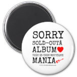 sorry sold-out album [Love heart]  this is chic boutique mania [Electric guitar]   sorry sold-out album [Love heart]  this is chic boutique mania [Electric guitar]   Magnets