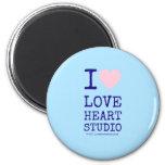 i [Love heart]  love heart studio i [Love heart]  love heart studio Magnets