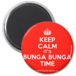 [Crown] keep calm it's bunga bunga time  Magnets