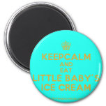 [Cupcake] keepcalm and eat little baby's ice cream  Magnets
