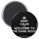 [Crown] keep calm and welcome to the dark room  Magnets