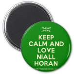 [UK Flag] keep calm and love niall horan  Magnets