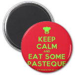 [Chef hat] keep calm and eat some pasteque  Magnets