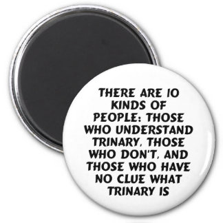 Magnets 2) There are 10 kinds...trinary (standard)