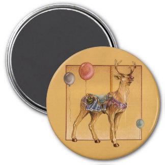 Magnets - Carousel Reindeer or Elk