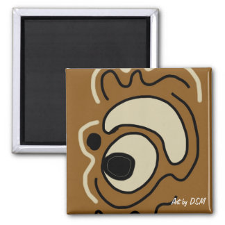 Magnets Earth-tone art magnets by DSM