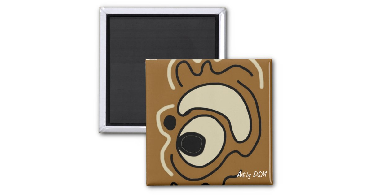 Magnets Earth tone art magnets by DSM Zazzle